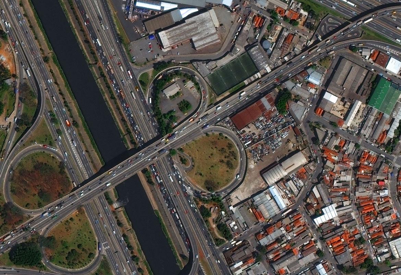 تصویر ماهواره ای WorldView-3