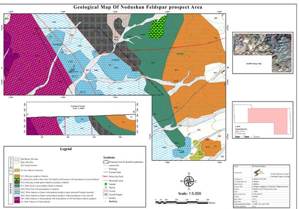 مهندسی-معدن-نقشه-زمین-شناسی