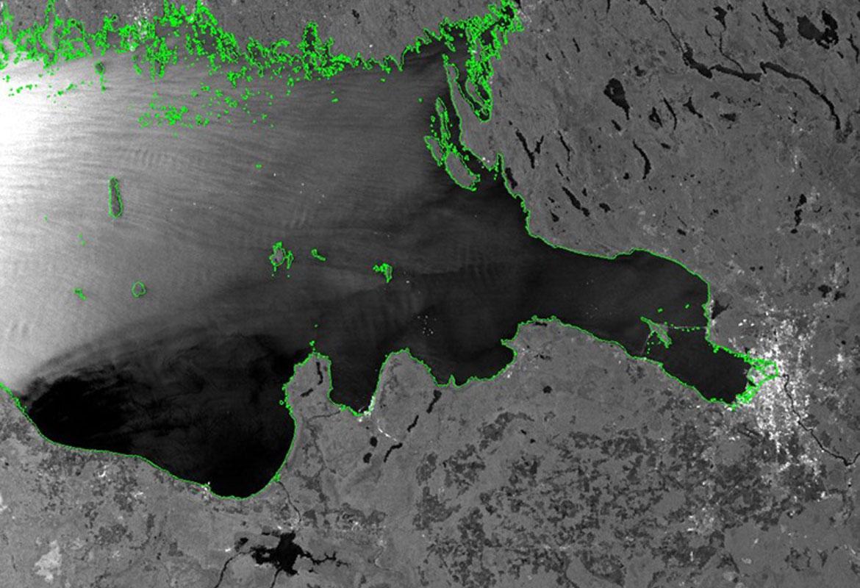 تصویر ماهواره ای راداری تراسارایکس