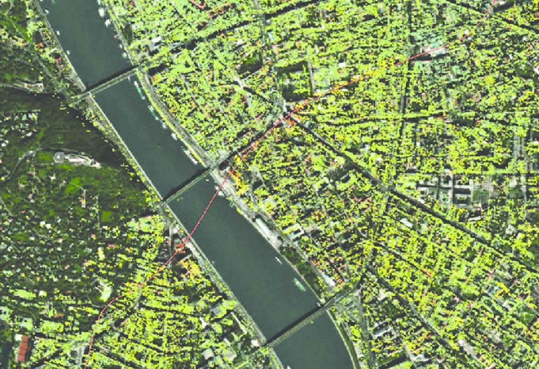 تصویر ماهواره ای راداری TerraSAR-X