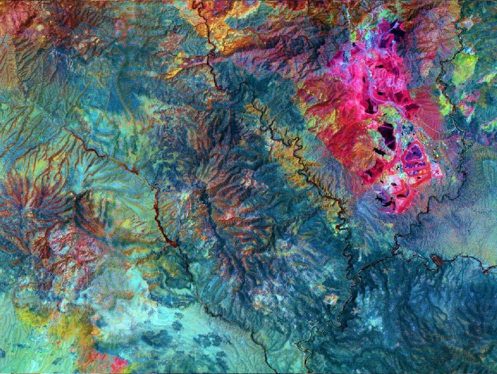تصاویر ماهواره ای ASTER