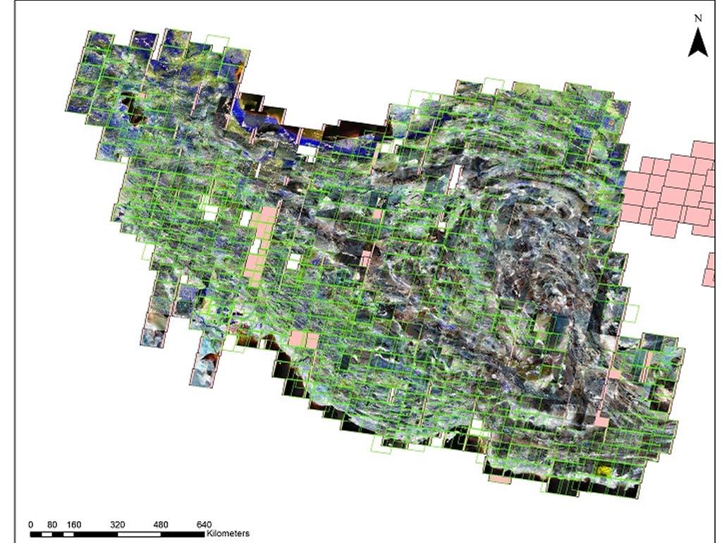 دانلود تصاویر ماهواره ای ASTER