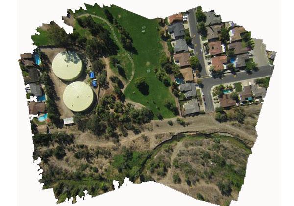 فتوگرامتری-هوایی-ماهواره ای-اورتو-موزائیک