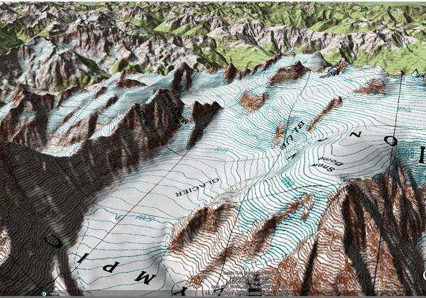 کارتوگرافی-اینفوگرافی-نقشه-توپوگرافی