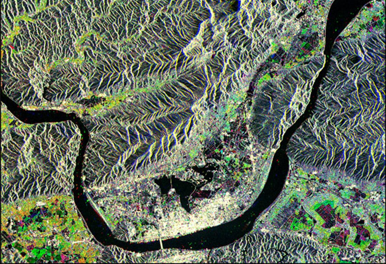 تصاویر ماهواره ای RadarSAT-1