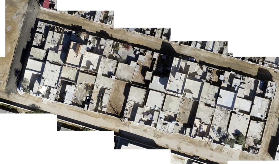 تولید ارتوفتو واقعی در نقشه برداری هوایی