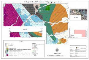 نقشه زمین شناسی