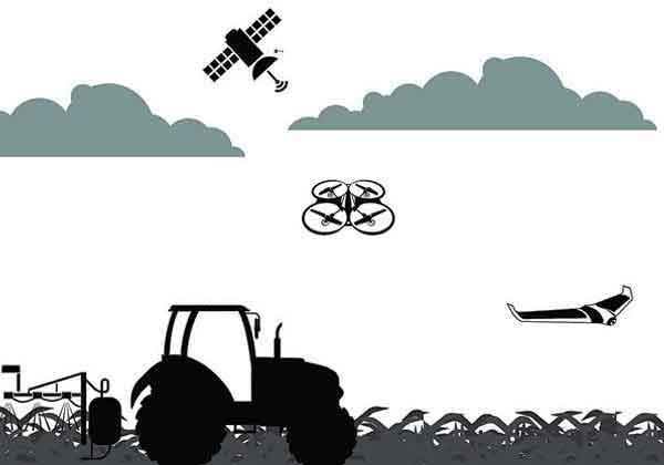سنجش از دوز-کشاورزی-پهپاد-ماهواره