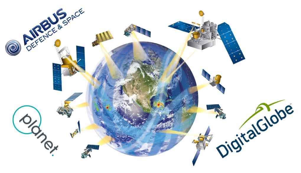 پلت فرم-ماهواره ای-دیجیتال گلوب-پلنت-ایرباس-platform satellite
