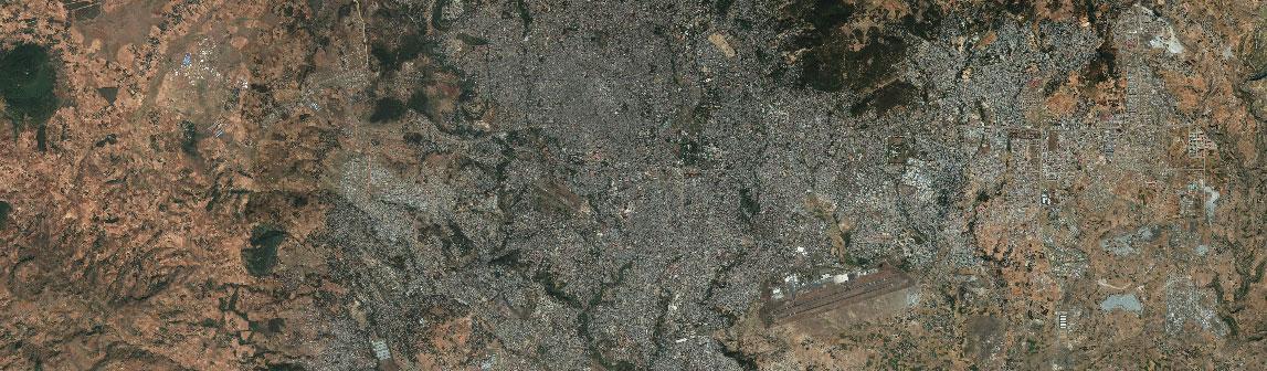 رصد تغییرات شهری