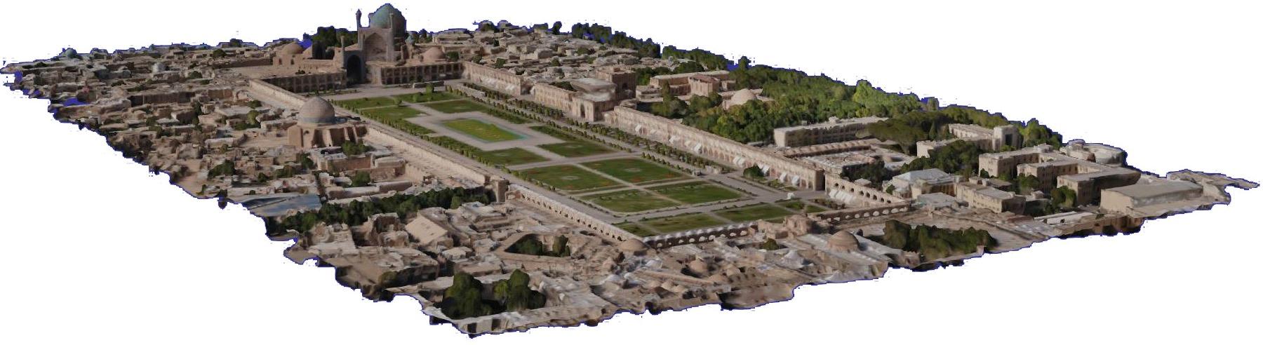 مدل سازی سه بعدی - اصفهان 1