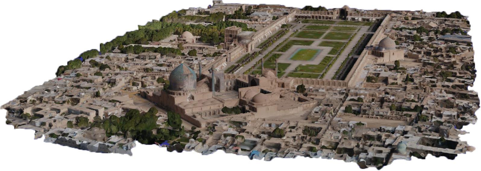 مدل سازی سه بعدی - اصفهان 4