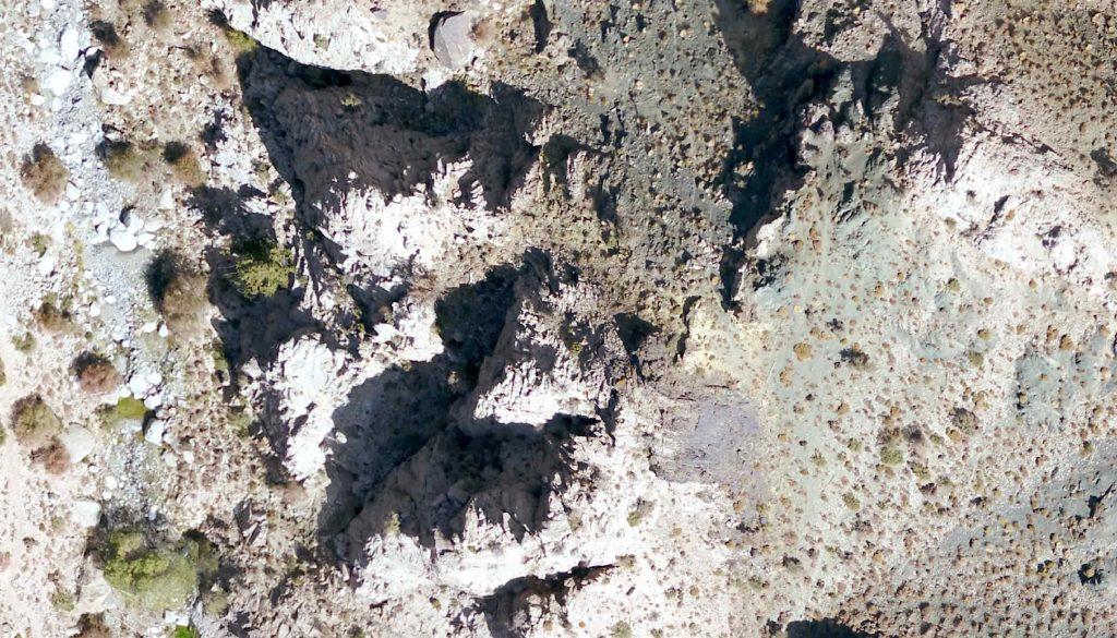 نقشه برداری هوایی محدوده اکتشافی هنزاکوئیه