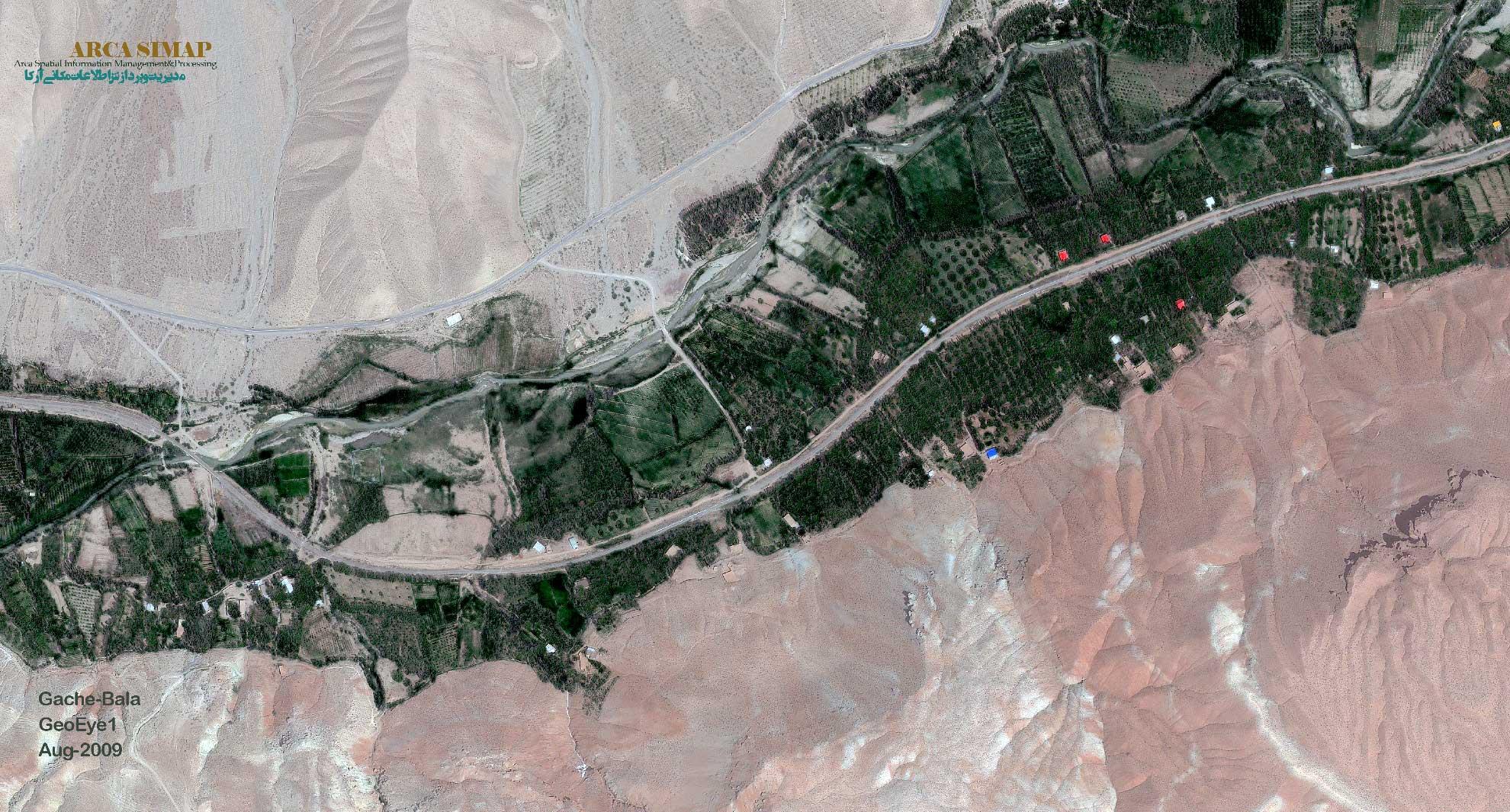 تصویر ماهواره ای GeoEye-1