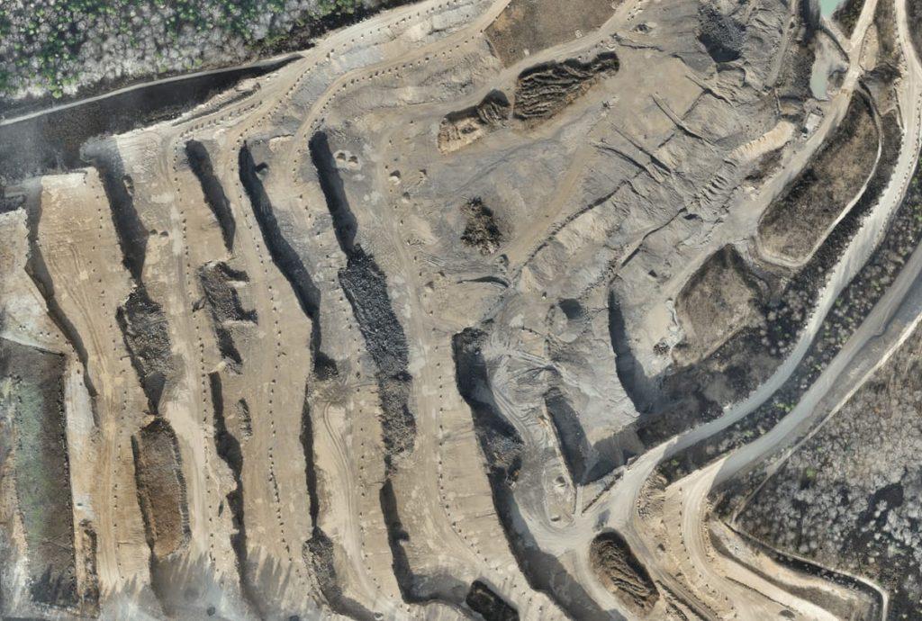 تصویر ارتوموزایئک معدن روباز