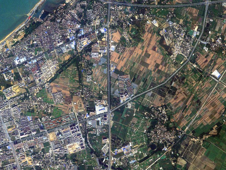 تصویر ماهواره ای رپیدآی از چین