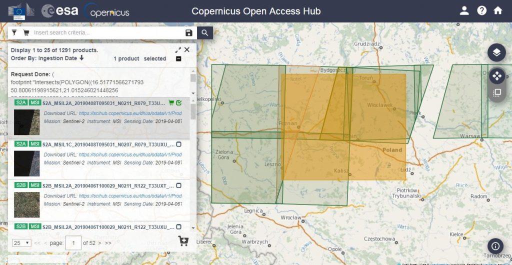 دانلود رایگان تصاویر ماهواره ای از Copernicus
